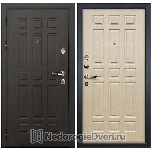Входная дверь Лекс Сенатор (№28 Беленый дуб)