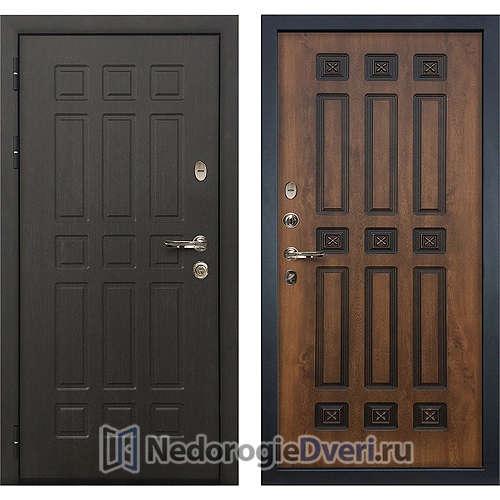 Входная дверь Лекс Сенатор (№33 Golgen Патина черная)
