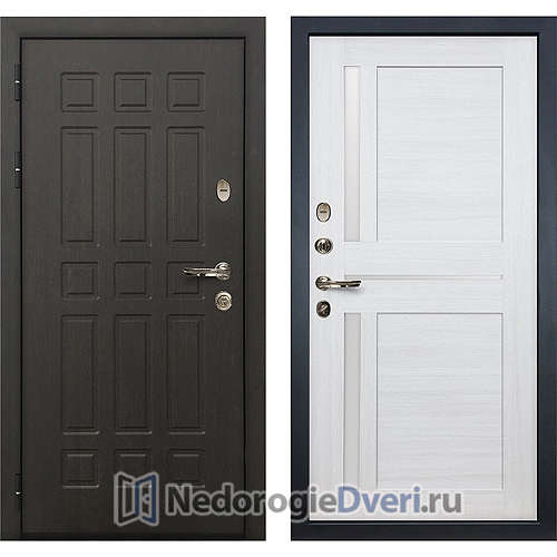 Входная дверь Лекс Сенатор (№47 Беленый дуб)