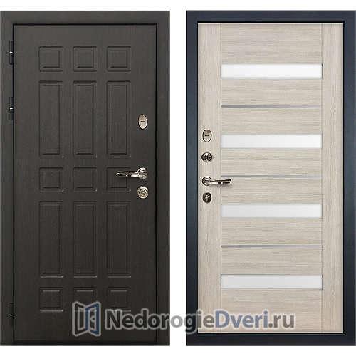 Входная дверь Лекс Сенатор (№48 Ясень кремовый)