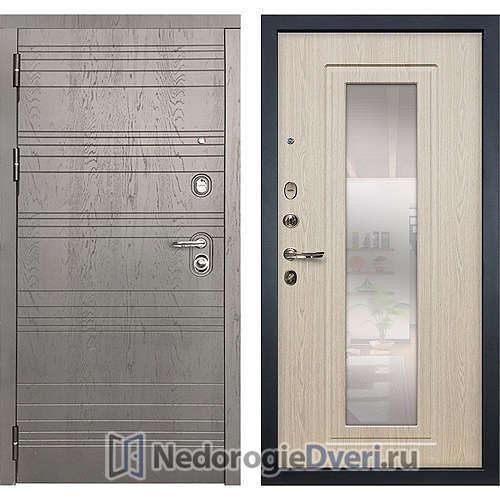 Входная дверь Лекс Легион (№23 Беленый дуб с зеркалом)