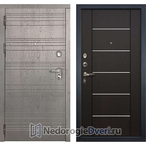 Входная дверь Лекс Легион (№24 Венге с молдингом)