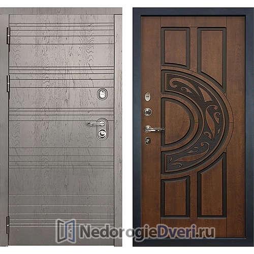 Входная дверь Лекс Легион (№27 Golden патина чёрная)