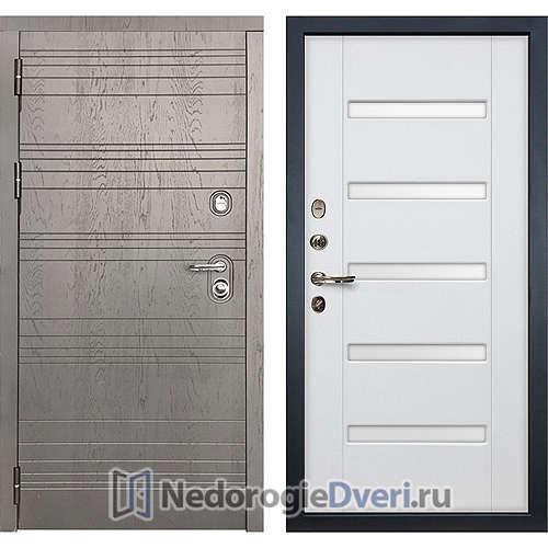 Входная дверь Лекс Легион (№34 Белый ясень с матовым стеклом)
