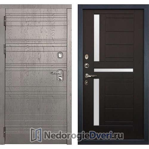 Входная дверь Лекс Легион (№35 Венге с матовым стеклом)
