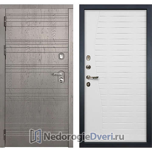 Входная дверь Лекс Легион (№36 Белый ясень)