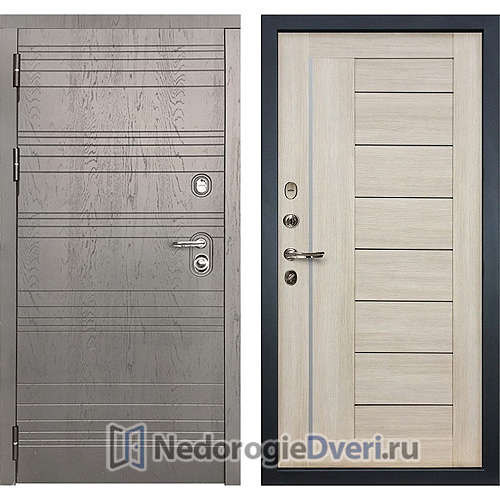 Входная дверь Лекс Легион (№40 Ясень кремовый)