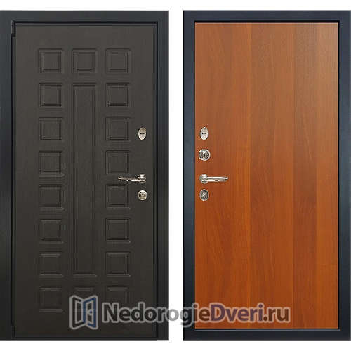 Входная дверь Лекс Неаполь Mottura Cisa (№3 Итальянский орех)