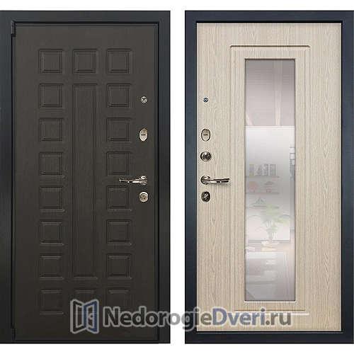Входная дверь Лекс Неаполь Mottura Cisa (№23 Беленый дуб с зеркалом)