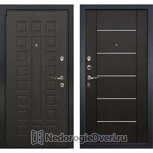 Входная дверь Лекс Неаполь Mottura Cisa (№24 Венге с молдингом)