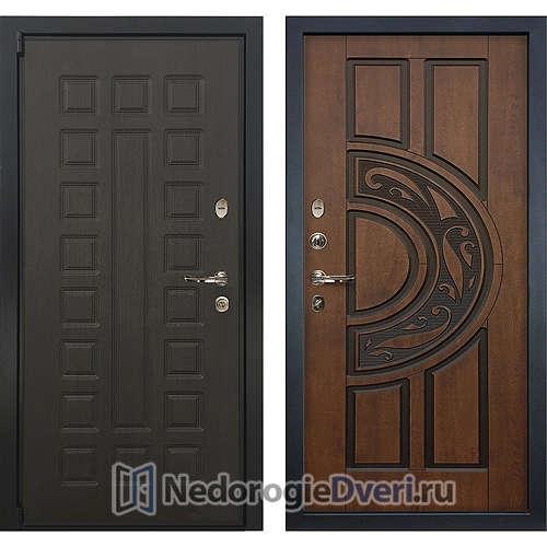 Входная дверь Лекс Неаполь Mottura Cisa (№27 Golden патина чёрная)