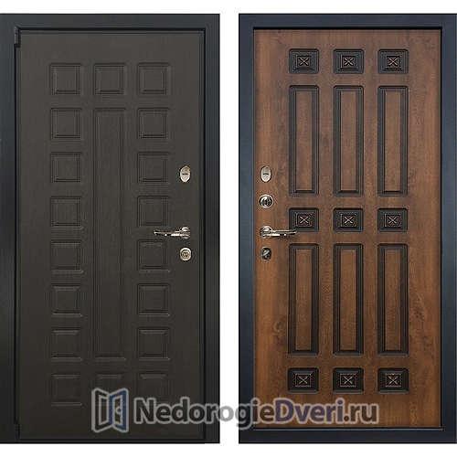 Входная дверь Лекс Неаполь Mottura Cisa (№33 Golden патина чёрная)