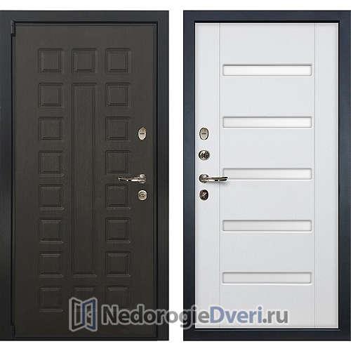 Входная дверь Лекс Неаполь Mottura Cisa (№34 Белый ясень с матовым стеклом)