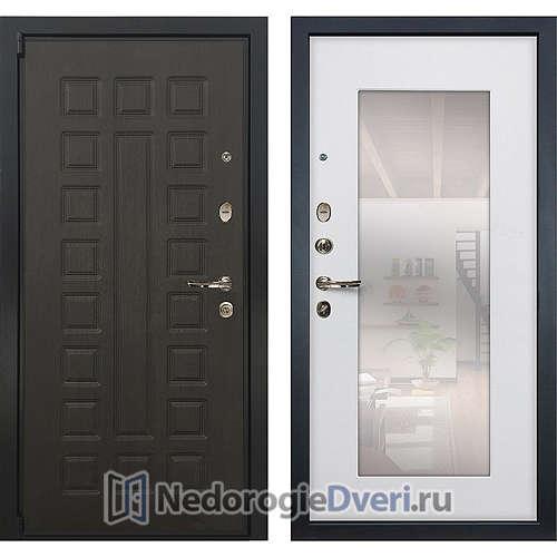 Входная дверь Лекс Неаполь Mottura Cisa (№37 Белый ясень с зеркалом)