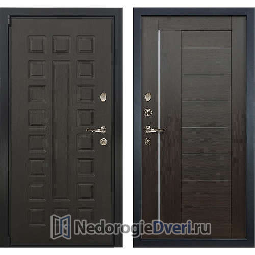 Входная дверь Лекс Неаполь Mottura Cisa (№39 Венге)