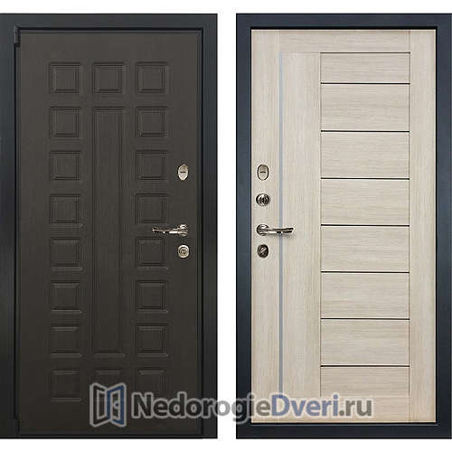 Входная дверь Лекс Неаполь Mottura Cisa (№40 Ясень кремовый)