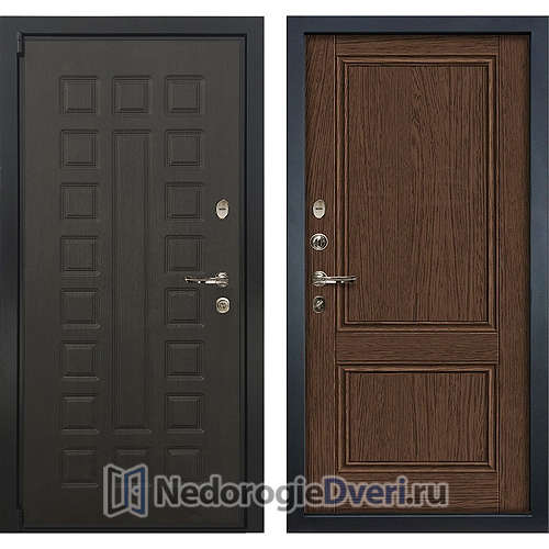 Входная дверь Лекс Неаполь Mottura Cisa (№57 Орех)
