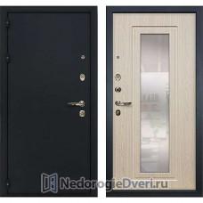 Металлическая дверь Лекс Рим (№23 Беленый дуб с зеркалом)