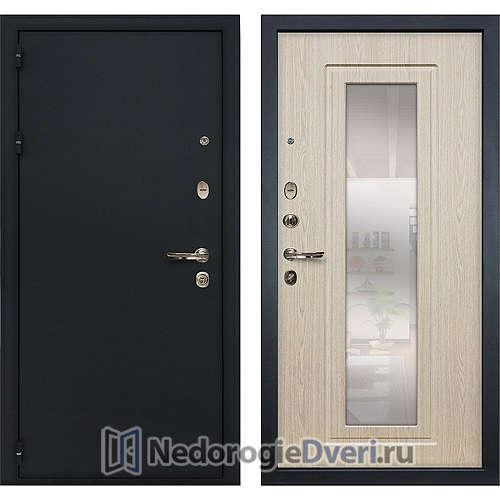 Входная дверь Лекс Рим (№23 Беленый дуб с зеркалом)