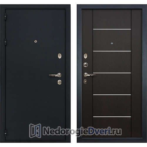 Входная дверь Лекс Рим (№24 Венге с молдингом)