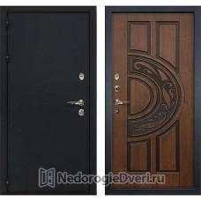 Входная дверь Лекс Рим (№27 Golden патина чёрная)