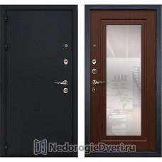 Металлическая дверь Лекс Рим (№30 Береза мореная с зеркалом)