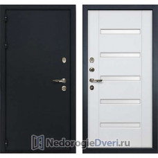 Входная дверь Лекс Рим (№34 Белый ясень с матовым стеклом)