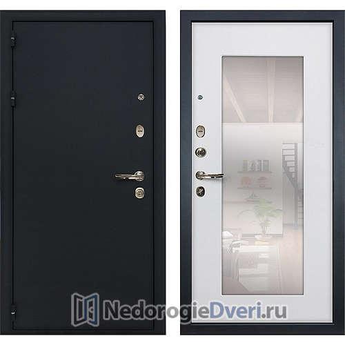 Входная дверь Лекс Рим (№37 Белый ясень с зеркалом)