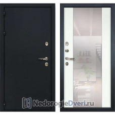Металлическая дверь Лекс Рим (№61 Белый с зеркалом)