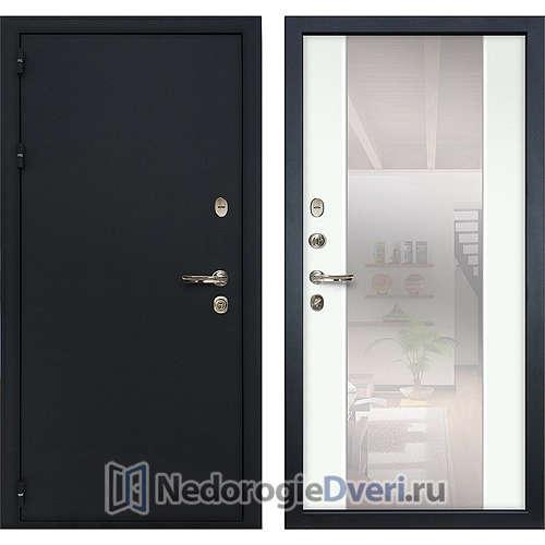 Входная дверь Лекс Рим (№61 Белый с зеркалом)