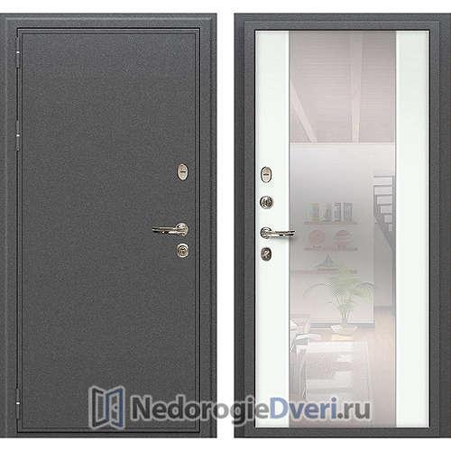 Входная дверь Лекс Колизей (№61 Белый с зеркалом)