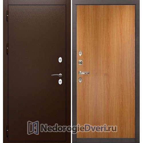 Входная дверь Лекс Сибирь Термо 3К (№4 Миланский орех)