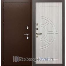 Входная дверь Лекс Сибирь Термо 3К (№44 Сандал белый)