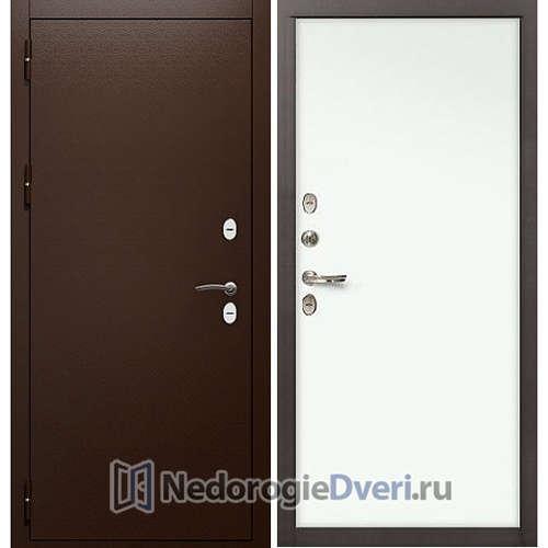 Входная дверь Лекс Сибирь Термо 3К (№59 Белый)