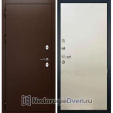 Входная дверь Лекс Сибирь Термо 3К (№62 Белый ясень)
