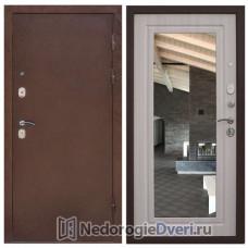 Входная дверь Снедо ЦАРСКОЕ ЗЕРКАЛО ЭШ ВАЙТ