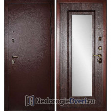 Входная дверь Дива МД-09 (с зеркалом)